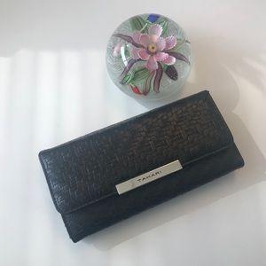 Tahari Began Leather Wallet